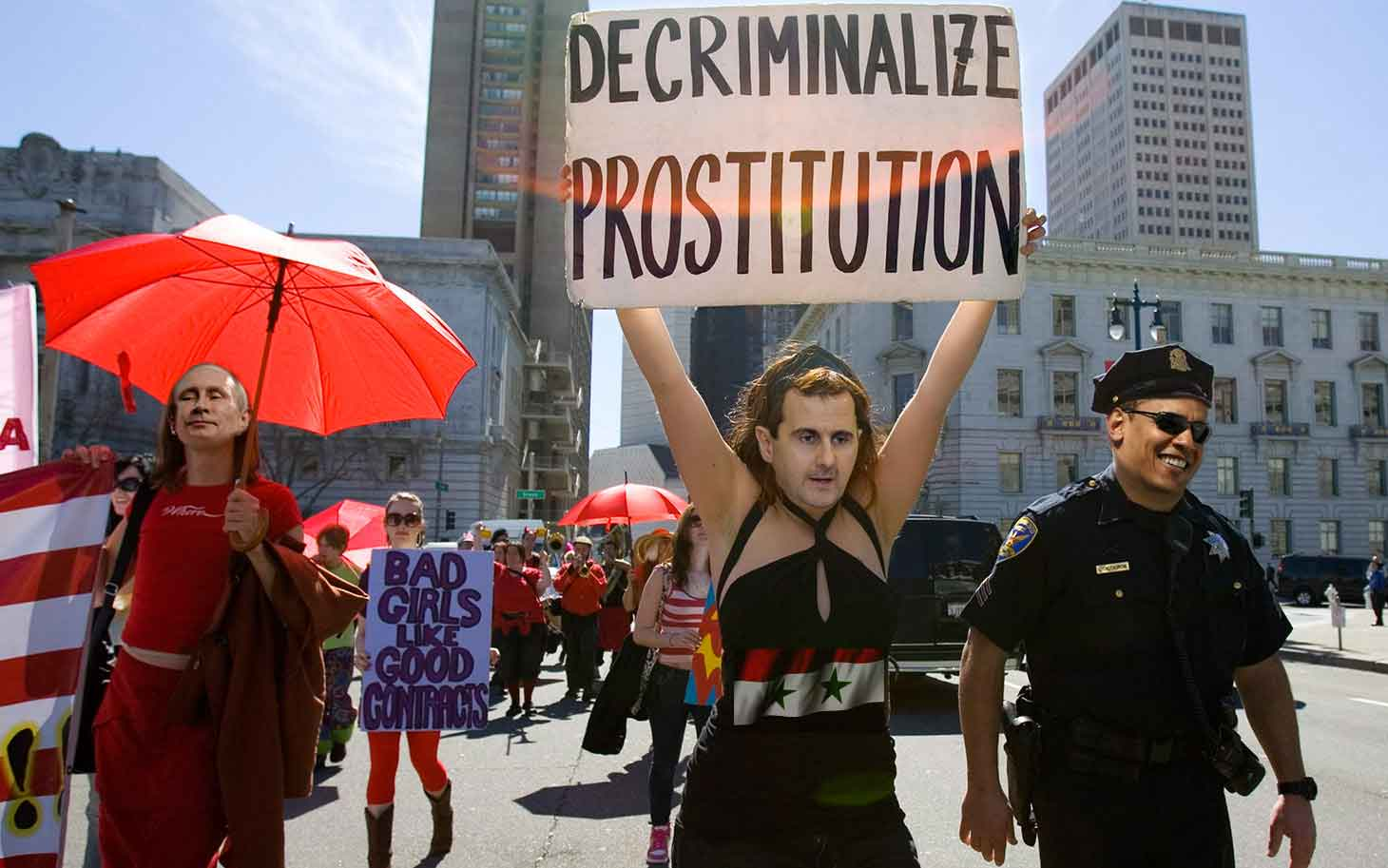 ISIS Sex Slaves – Assad, Putin, and Obama Decriminalize Prostitution